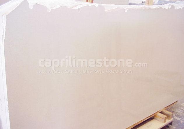 Capri limestone slabs